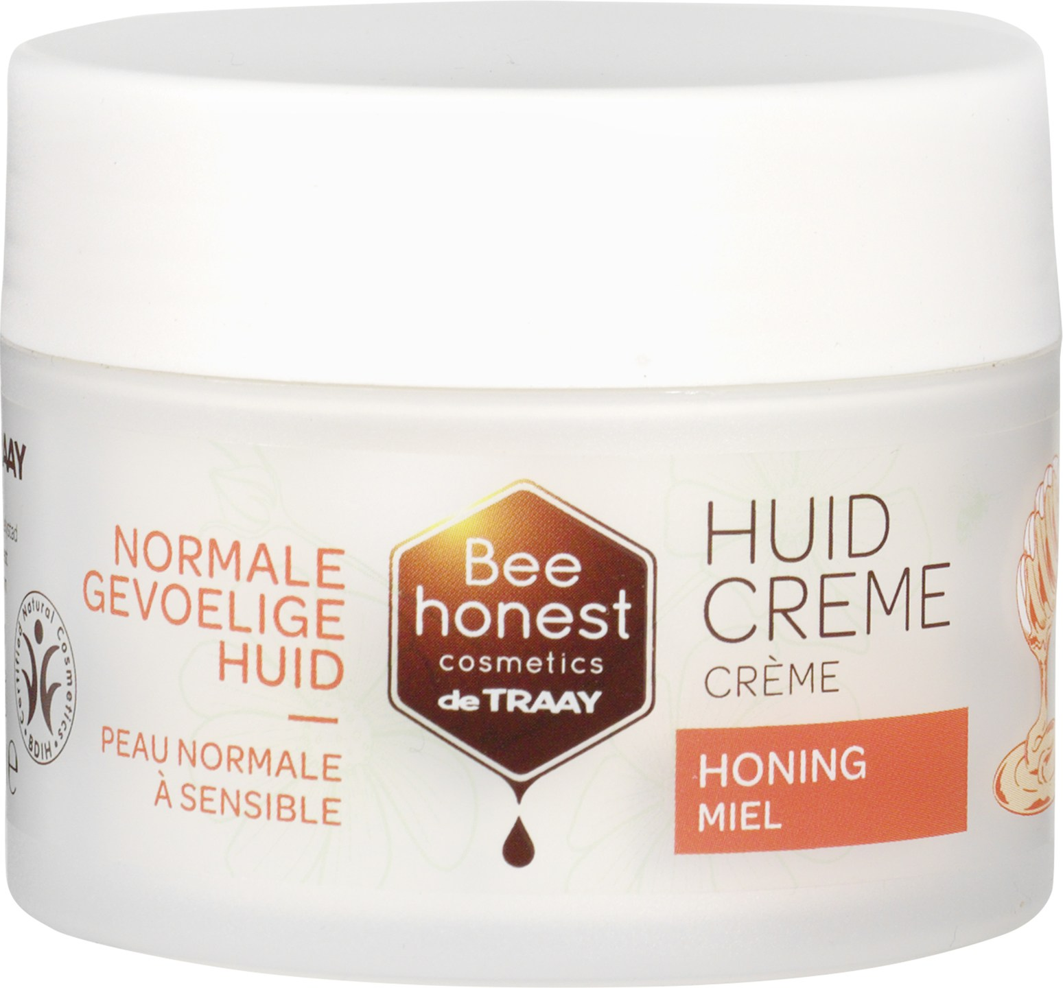Biologische Bee honest cosmetics Honing huidcrème 100 ml