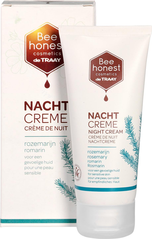 Biologische Bee honest cosmetics Nachtcrème rozemarijn - gevoelige huid 50 ml