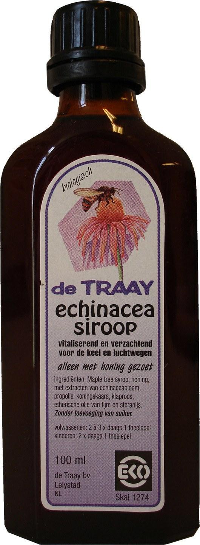 Biologische De Traay Echinacea hoestsiroop 100 ml