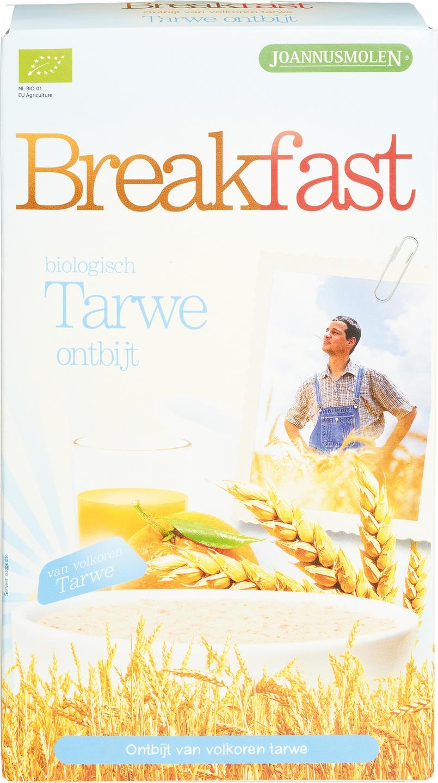 Biologische Joannusmolen Breakfast tarwe ontbijt 300 gr