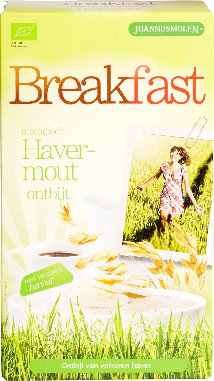 Biologische Joannusmolen Breakfast havermout 300 gr