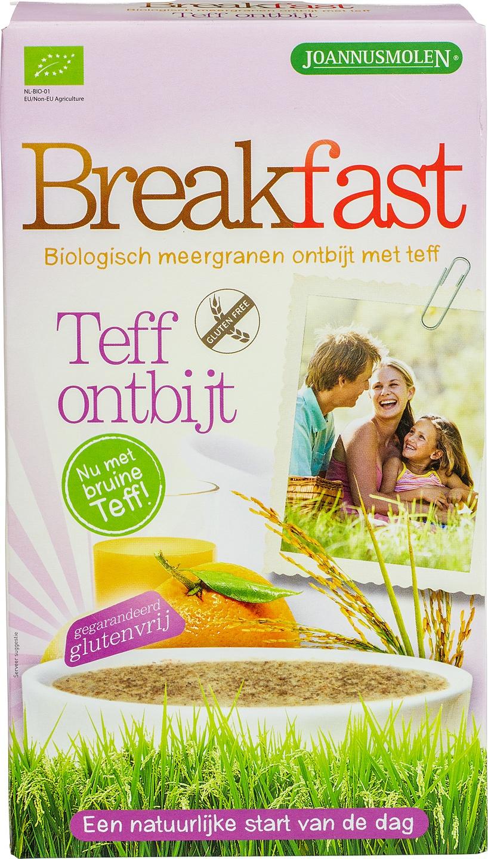 Biologische Joannusmolen Breakfast teff ontbijt 300 gr