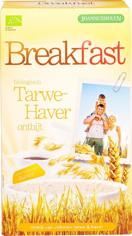Biologische Joannusmolen Breakfast tarwe-haver 300 gr