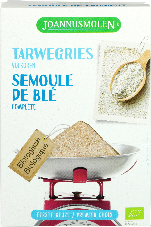 Biologische Joannusmolen Tarwegries volkoren 300 gr