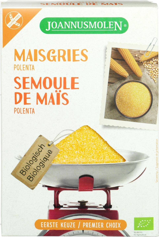 Biologische Joannusmolen Maisgries (polenta) 350 gr