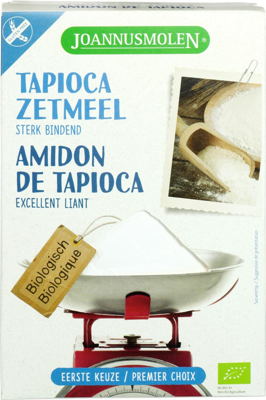 Biologische Joannusmolen Tapiocazetmeel 250 gr