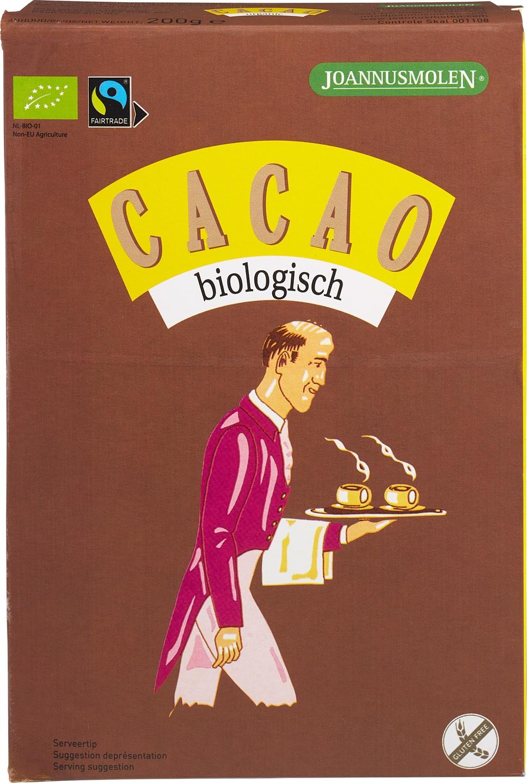 Biologische Joannusmolen Cacaopoeder 200 gr