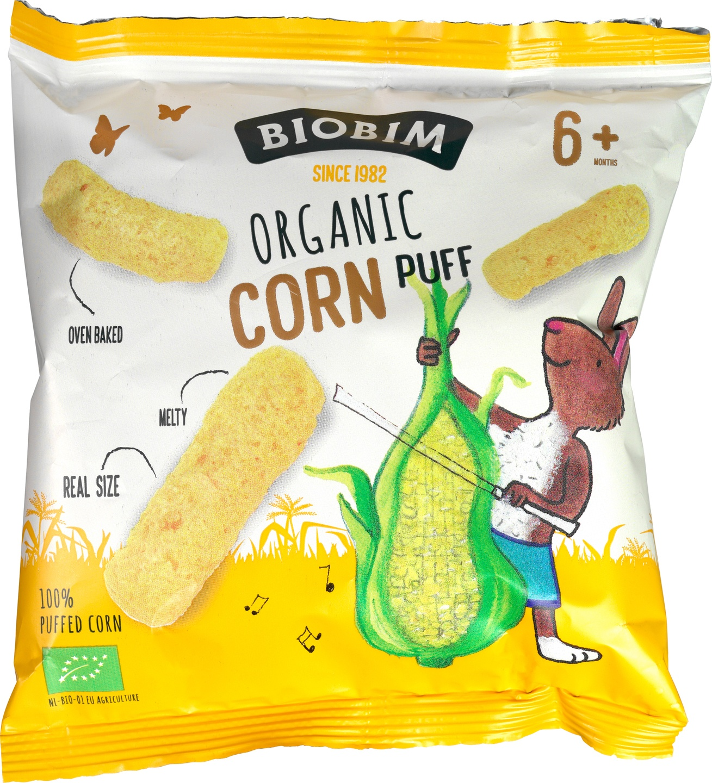 Biologische Biobim Mais Puff 15 gr