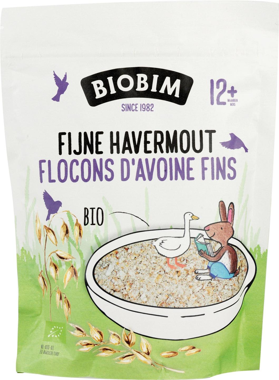 Biologische Biobim Fijne havermout pap 250 gr