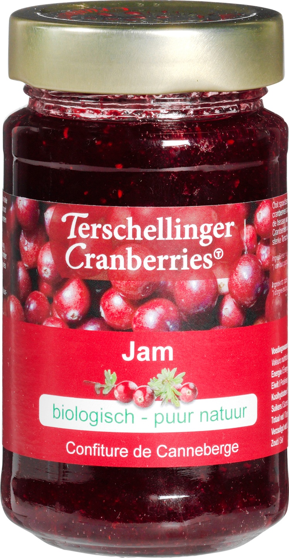 Biologische Terschellinger Cranberry jam 250 gr