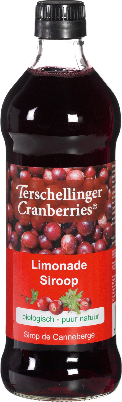 Biologische Terschellinger Cranberry siroop 500 ml