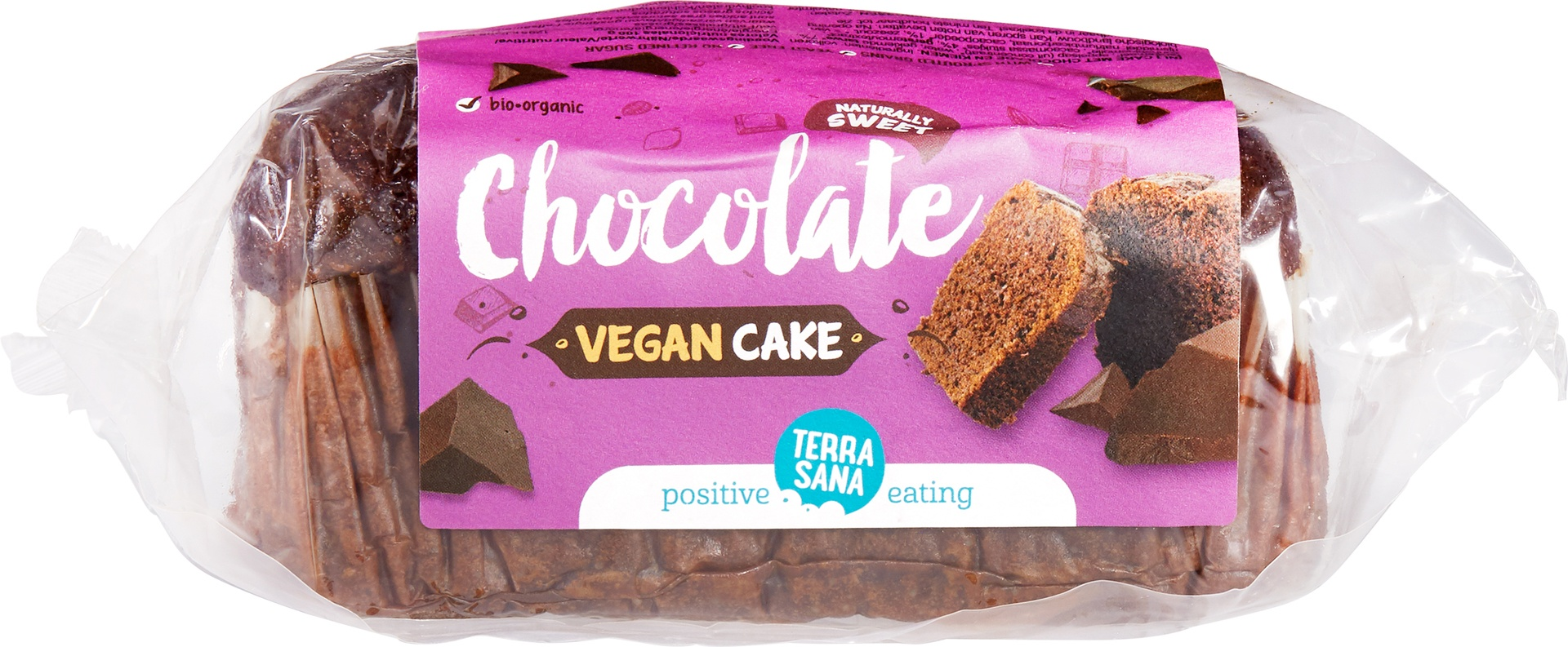 Biologische TerraSana Vegan cake chocolade 350 gr