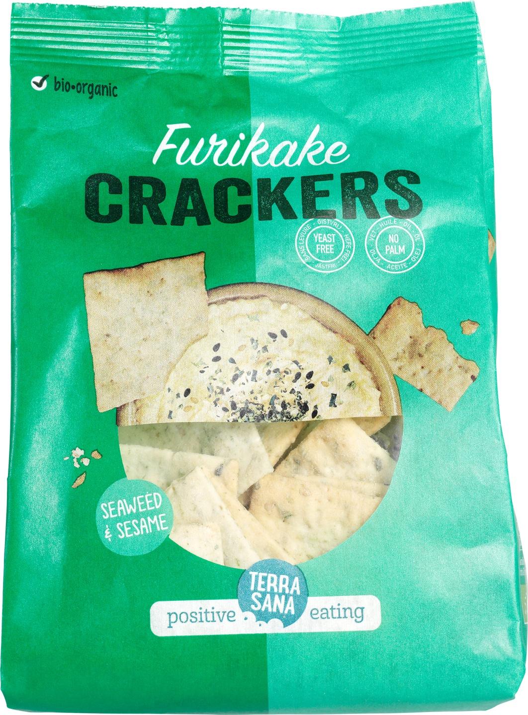 Biologische TerraSana Furikake Crackers 110 gr