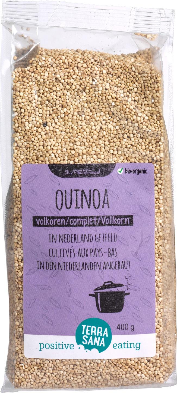 Biologische TerraSana Nederlandse quinoa volkoren 400 gr