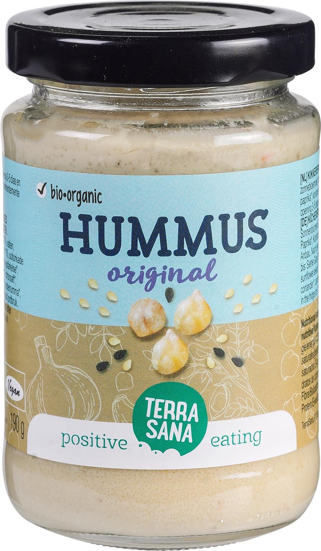 Biologische TerraSana Hummus 185 gr