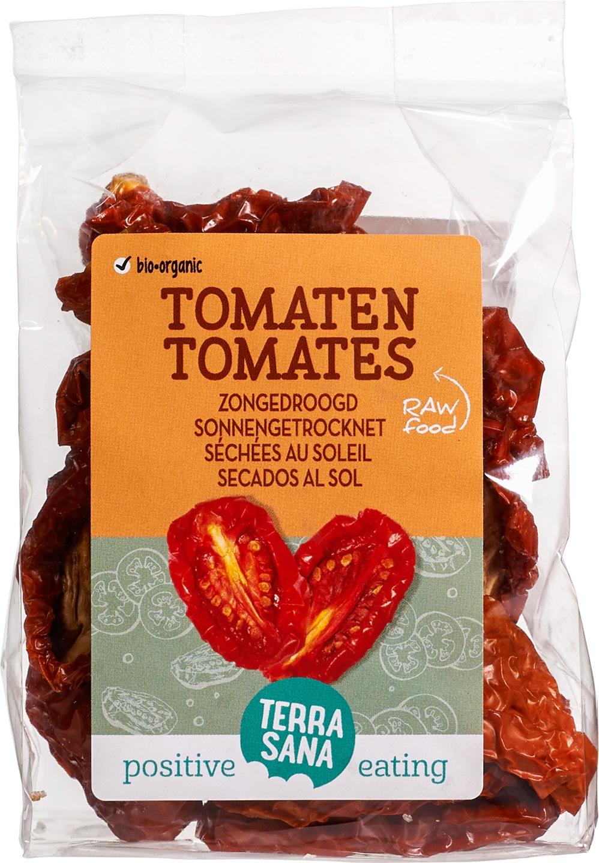 Biologische TerraSana RAW tomaten zongedroogd 100 gr