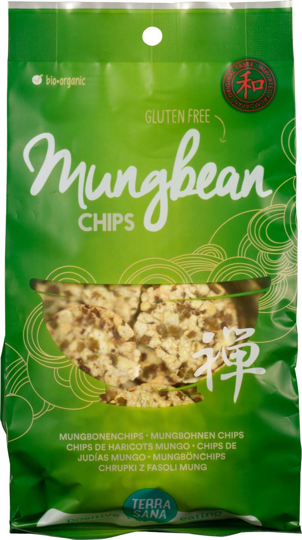 Biologische TerraSana Mungbonen chips 50 gr