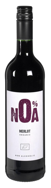 Biologische Noa Merlot alcoholvrij 750 ml