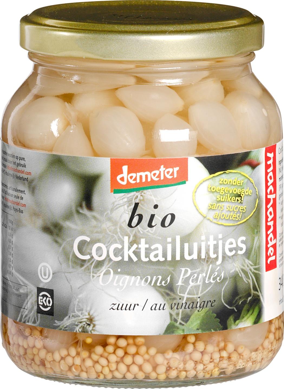 Biologische Machandel Cocktailuitjes zuur 195 gr