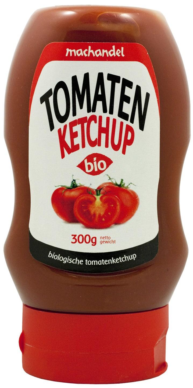 Biologische Machandel Tomatenketchup knijpfles 300 gr