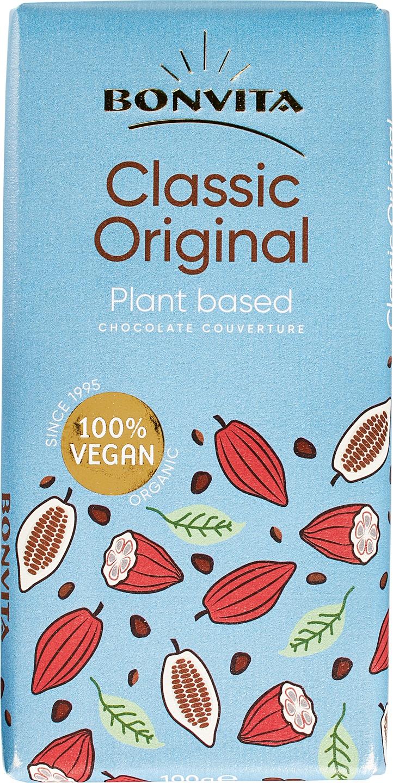 Biologische Bonvita Rijstmelk chocolade vegan 100 gr