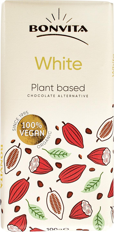 Biologische Bonvita Rijstmelk witte chocolade vegan 100 gr
