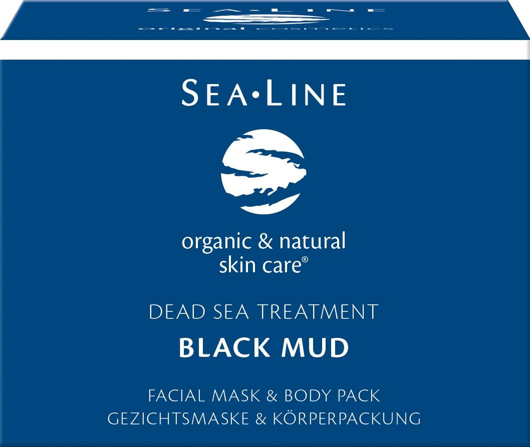 Biologische Sea.Line Gezichtsmasker dode zee modder 225 ml