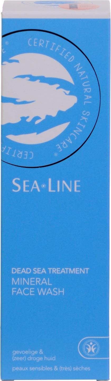 Biologische Sea.Line Reinigingsgel dode zee - gevoelige en droge huid 200 ml