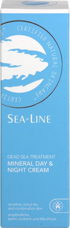Biologische Sea.Line Dag- en nachtcrème mineralen - gevoelige & droge huid 75 ml