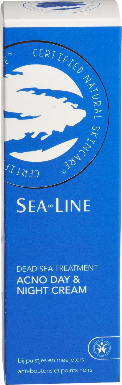 Biologische Sea.Line Dag- en nachtcrème dode zee - bij puistjes 75 ml