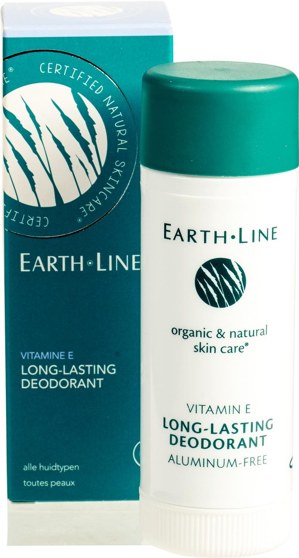 Biologische Earth.Line Vitamine E long lasting deodorant 50 ml