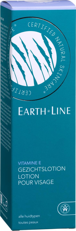 Biologische Earth.Line Reinigingslotion vitamine E - alle huidtypen 200 ml