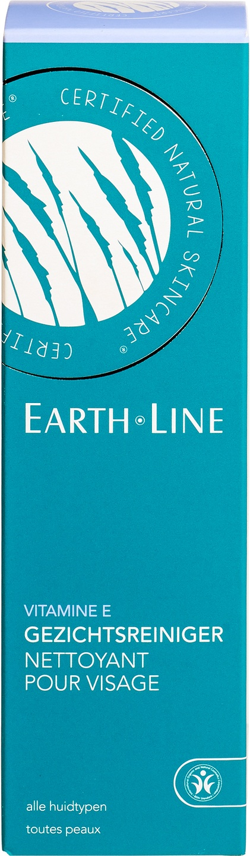 Biologische Earth.Line Reinigingsmelk vitamine E - alle huidytpen 200 ml