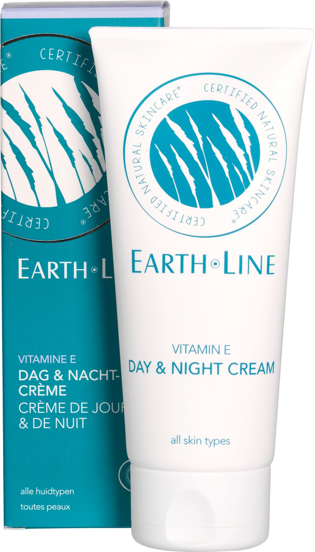Biologische Earth.Line Dag- & nachtcrème vitamine E - alle huidtypen 100 ml
