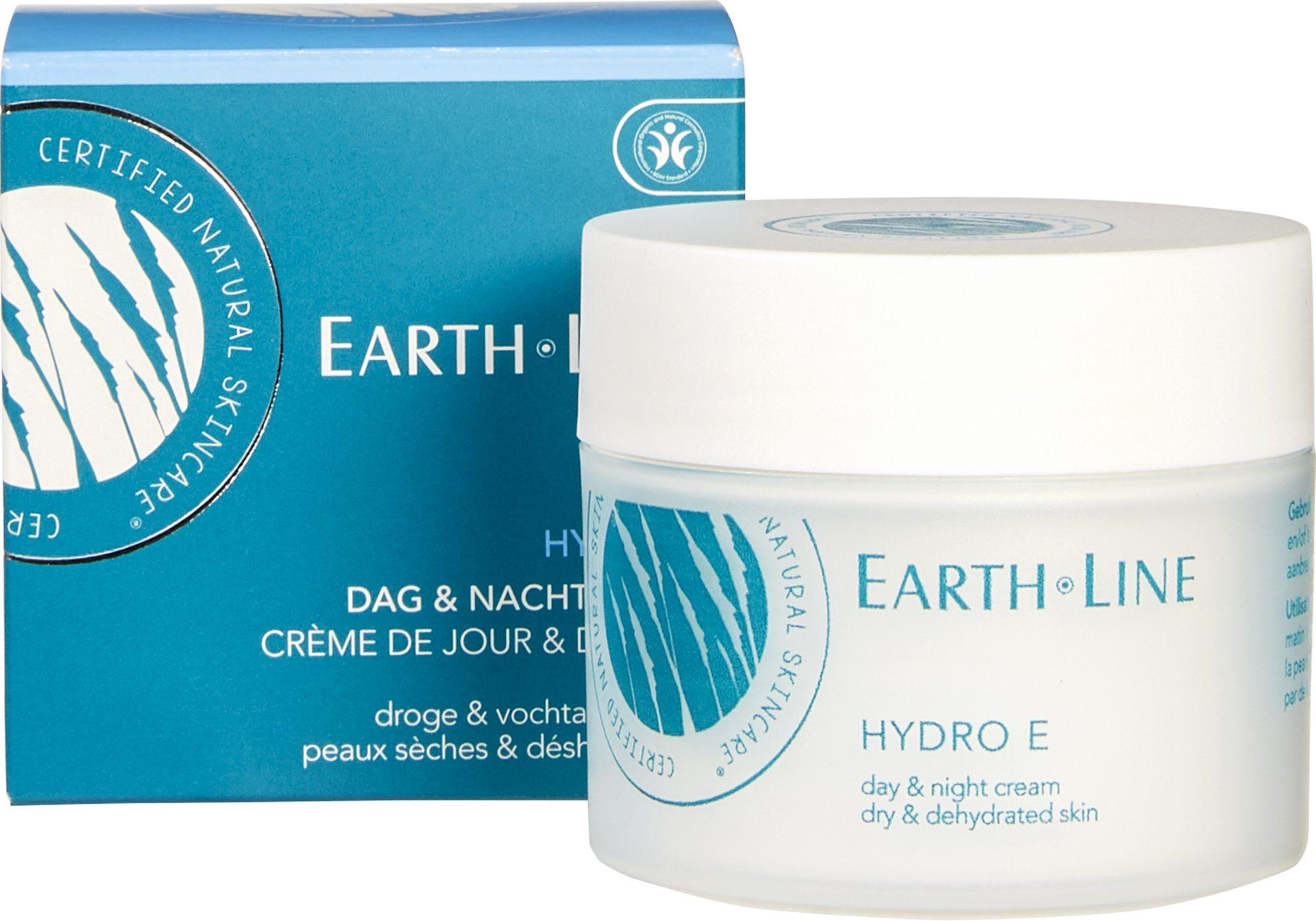 Biologische Earth.Line Dag- en nachtcrème hydro e - droge huid 50 ml