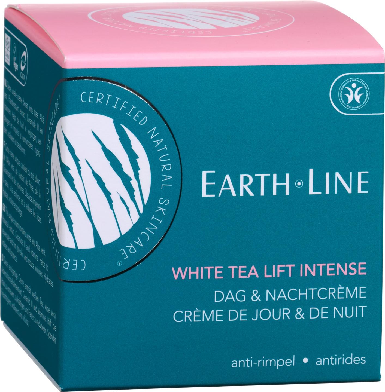 Biologische Earth.Line Dag- & nachtcrème white tea - rijpere huid 50 ml