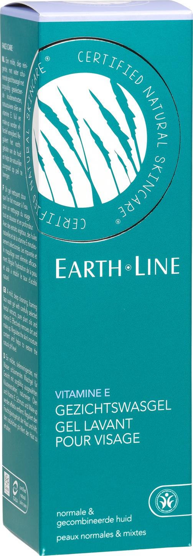 Biologische Earth.Line Reinigingsgel vitamine E - normale en gecombineerde huid 200 ml