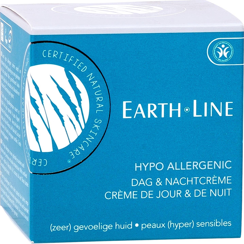 Biologische Earth.Line Dag- en nachtcrème hypo allergeen - gevoelige huid 50 ml