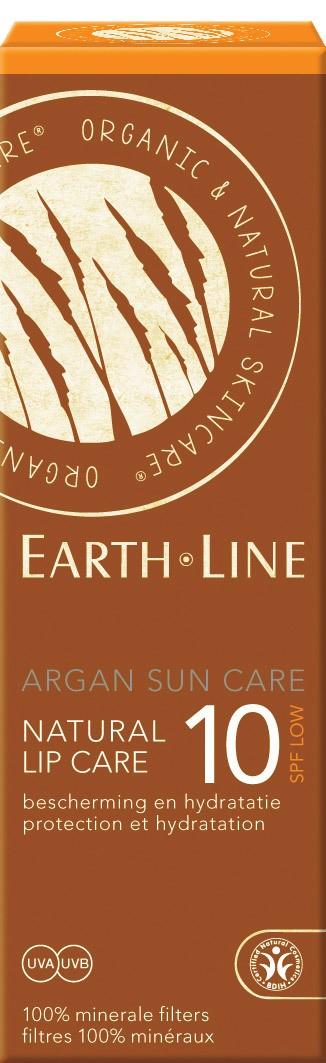 Biologische Earth.Line Lippenbalsem SPF 10 10 ml