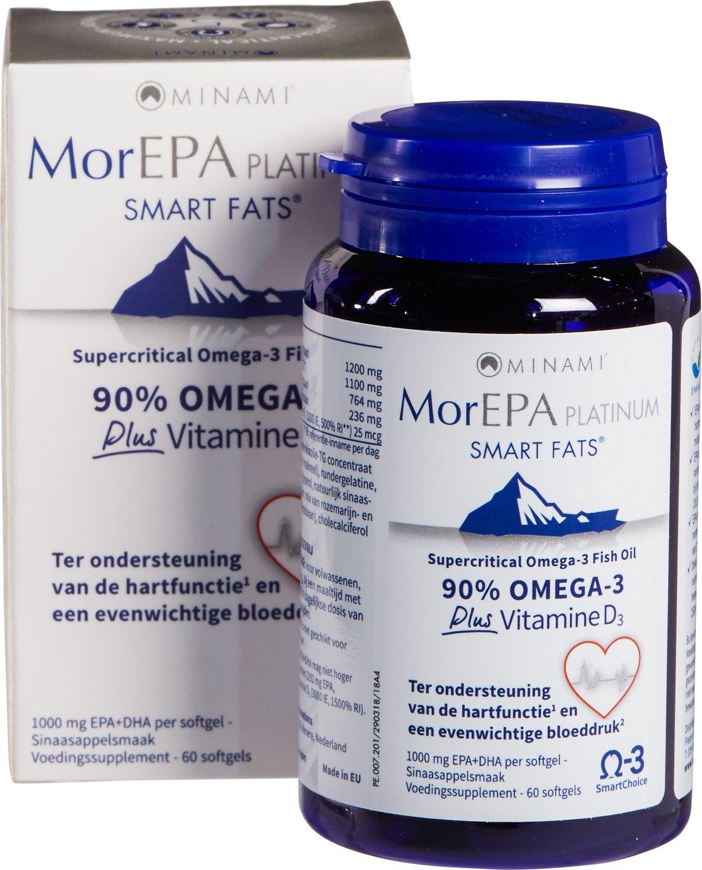 Biologische Minami Omega 3 90% - EPA 60 st