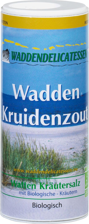 Biologische Waddendelicatessen Waddenkruidenzout strooibus 200 gr