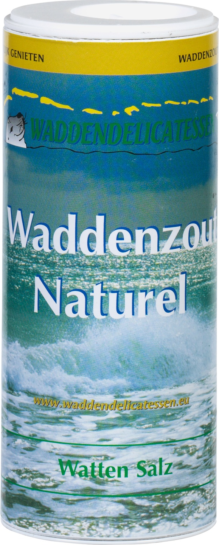 Biologische Waddendelicatessen Waddenzout naturel strooibus 200 gr