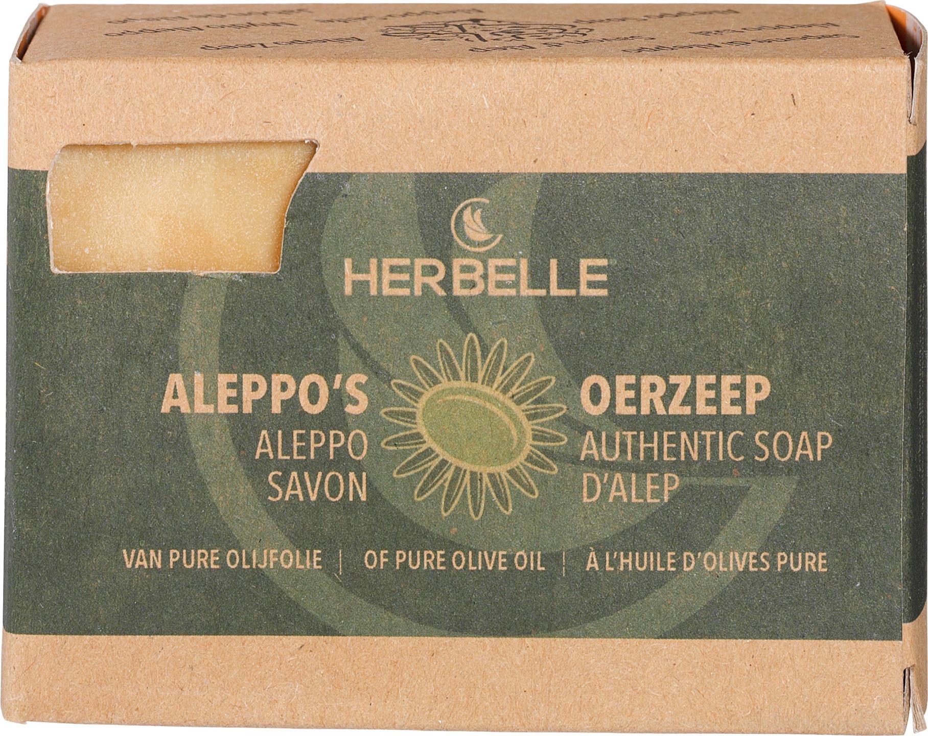 Biologische Herbelle Aleppozeep olijfolie 180 gr