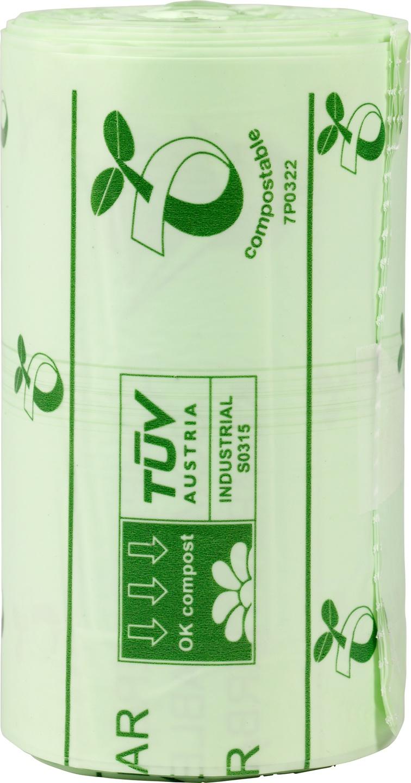 Biologische Biobag Afvalzak 20L composteerbaar 25 st