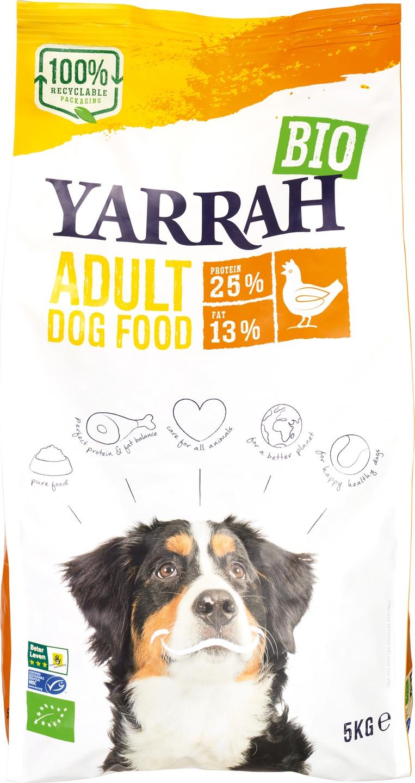 Biologische Yarrah Hondenbrokken kip adult 5 kg