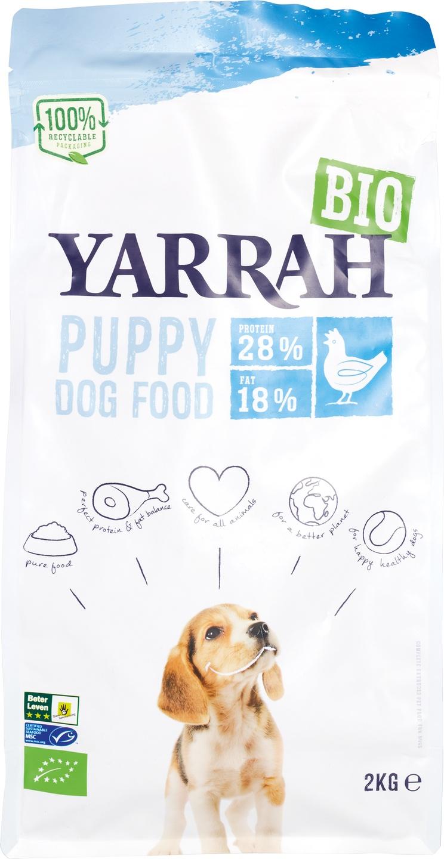 Biologische Yarrah Hondenbrokken puppy 2 kg