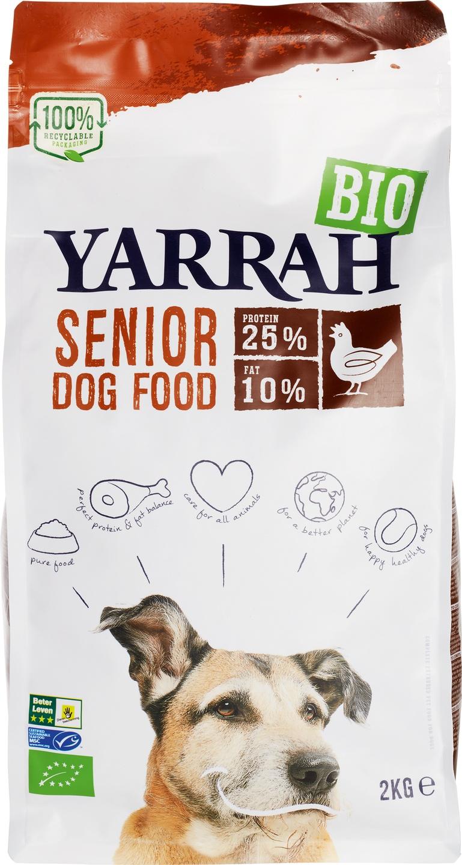 Biologische Yarrah Hondenbrokken senior 2 kg