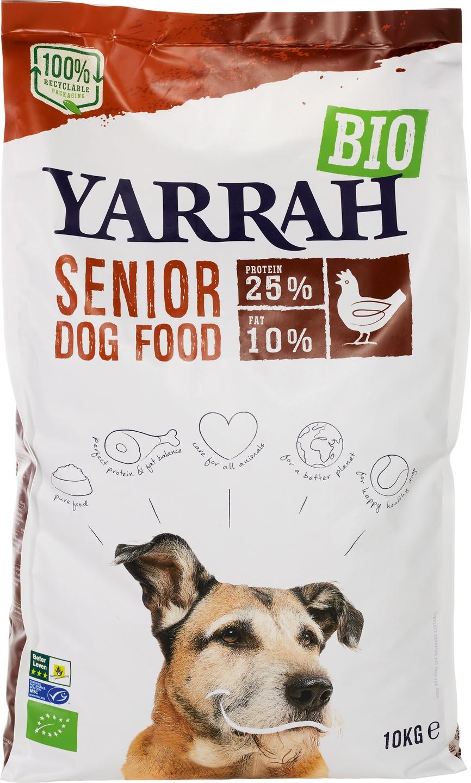 Biologische Yarrah Hondenbrokken senior 10 kg