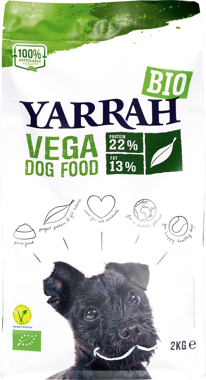 Biologische Yarrah Hondenbrokken vegan 2 kg