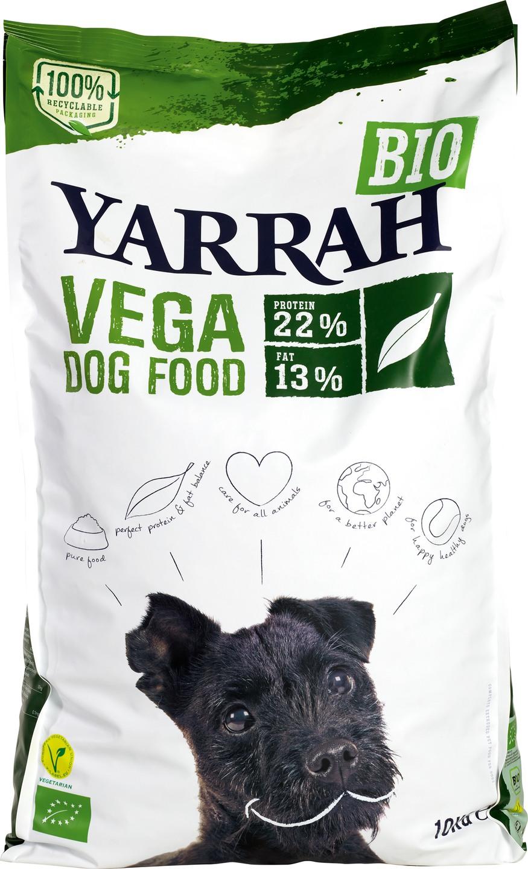 Biologische Yarrah Hondenbrokken vegan 10 kg